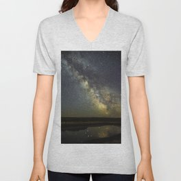 Magnificent Milky Way Unisex V-Neck
