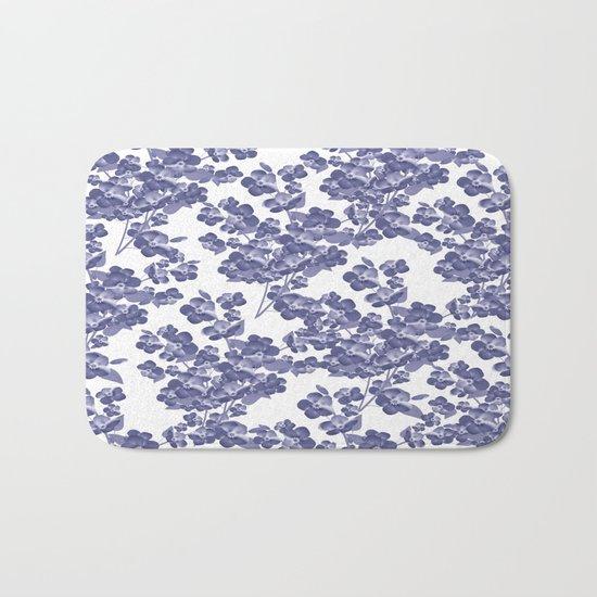 Floral pattern 14 Bath Mat