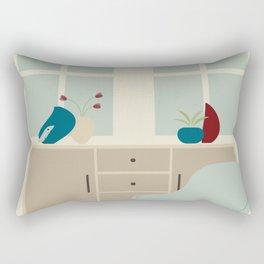 Inside mid century modern 112 Rectangular Pillow