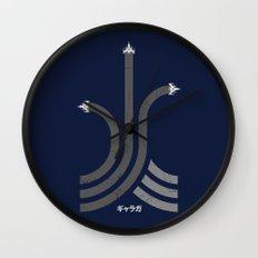 Galaga Wall Clock