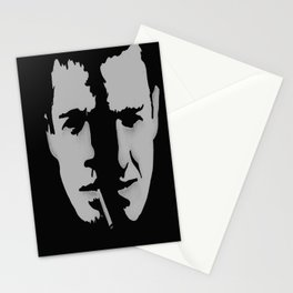 Fifth Rule: One fight at a time, fellas. Stationery Cards