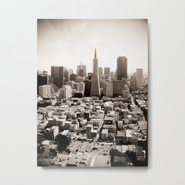 The View from Coit Metal Print