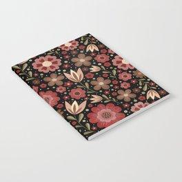 Summer floral pattern No. 2 Notebook