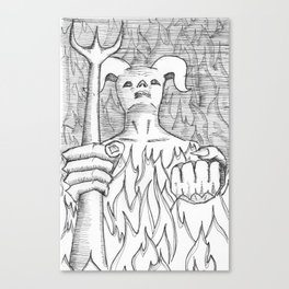Devil in the Detail Canvas Print