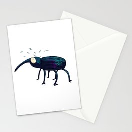 Distraught Beetle 1 Stationery Cards