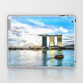 Hotel Marina Bay Sands and ArtScience Museum, Singapore Laptop & iPad Skin
