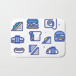 Sandwiches Bath Mat