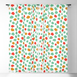 Abstract modern dot explosion Blackout Curtain