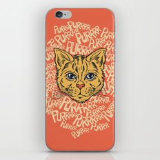 Purrrrr iPhone & iPod Skin