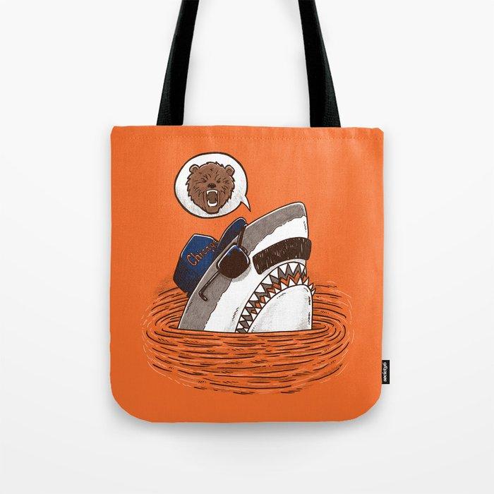 Da Chicago Shark Tote Bag