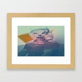 laptop sleeve wolfman Framed Art Print