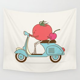 Cherry Tomato Wall Tapestry