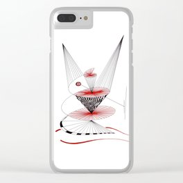 dancing in time Clear iPhone Case