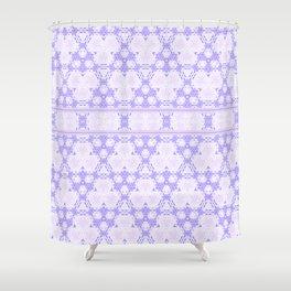 Lavender decor Pattern Design Shower Curtain