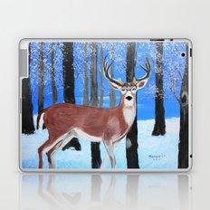 Buck by the trees Laptop & iPad Skin