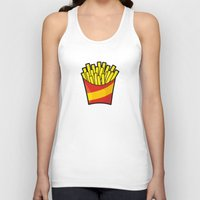 french fries Tank Tops featuring French Fries by Sifis