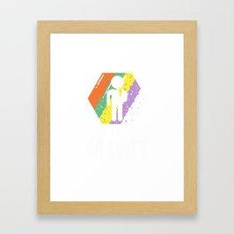 Well Played Gravity - Get Well Broken Arm Fun Gift Framed Art Print