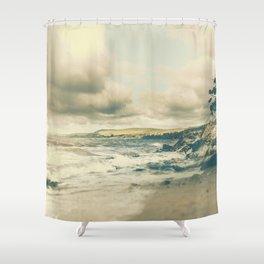 Where am I Shower Curtain