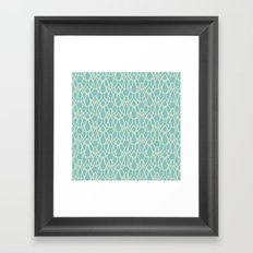 Lluvia Azul Framed Art Print