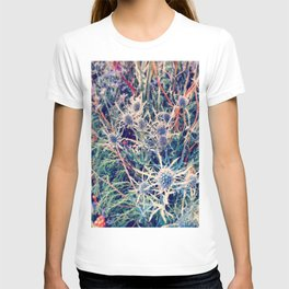Exotic Garden, shabby chic flowers, modern home decor T-shirt