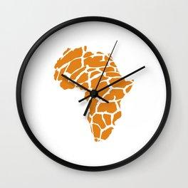 GiraffAfrica Wall Clock