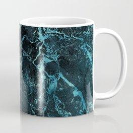 Black & Teal Color Marble Coffee Mug