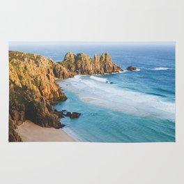Cornish Coastal Sunset Rug