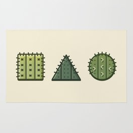 Playing With Cacti Rug