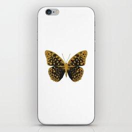 Black Butterfly iPhone Skin