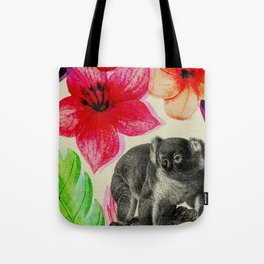 Jungle koala Tote Bag