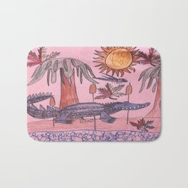 Swamp Hunt Bath Mat