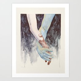 Exchange- All of You For All of Me pt. 3 Art Print