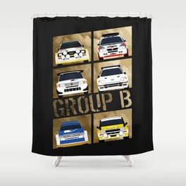 Group B Shower Curtain