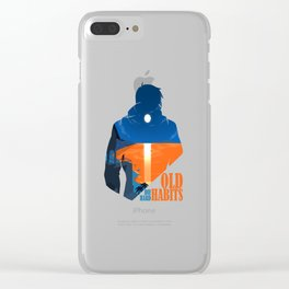 Old Habits Clear iPhone Case