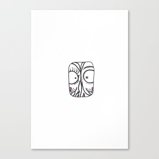 Eyetoeye Canvas Print