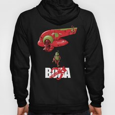 BobAkira (red with white text) Hoody