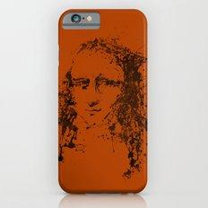 Modern Lisa (orange) iPhone 6s Slim Case