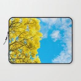 Yellow shower tree  Laptop Sleeve