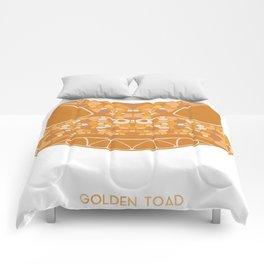 Golden Toad Comforters