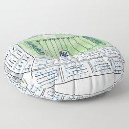 UK, Kentucky Wildcats, Football, Stadium, Lexington Floor Pillow