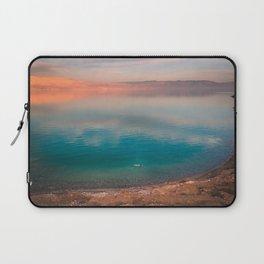 Floating in the Dead Sea Laptop Sleeve