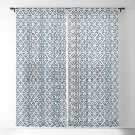 Thunderbird Kilim Watercolor Sheer Curtain