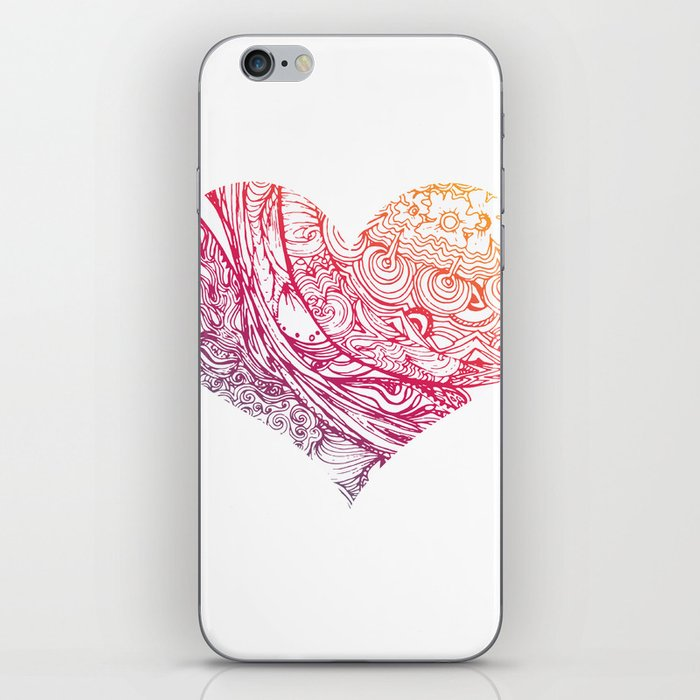 Of Heart 2 iPhone Skin