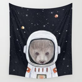 little space bear Wall Tapestry