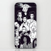 ahs iPhone & iPod Skins featuring AHS Hotel by Jaimie Hutton