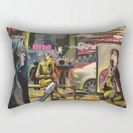 Artifical By Dustin Joyce.  Rectangular Pillow