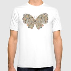 You Too Can Fly White Mens Fitted Tee MEDIUM