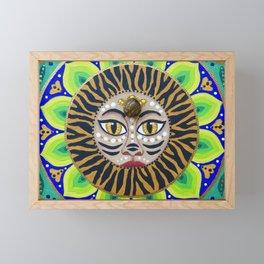 Eye of the Tiger Framed Mini Art Print