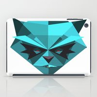 racoon iPad Cases featuring Rocky Racoon by rybbrybson