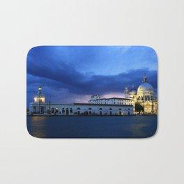 Lightning in Venice Bath Mat